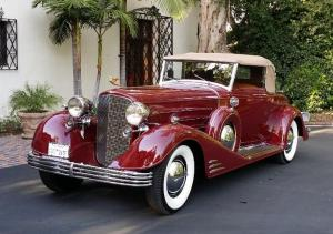 1933 Cadillac V-16 Fisher Body Convertible Coupe